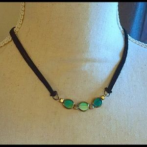 Czech Nights Leather Necklace